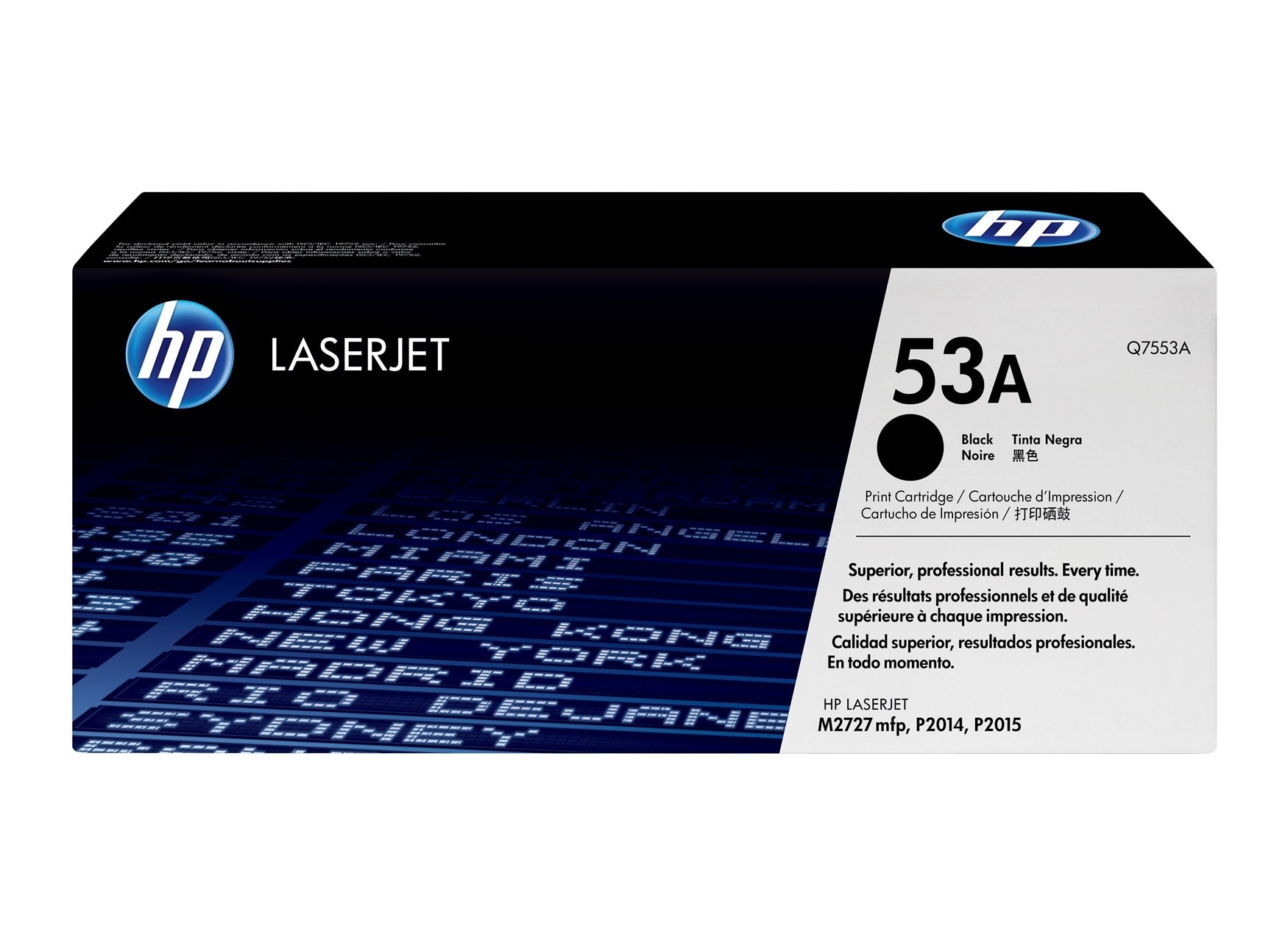 Hp 53a Black Original Laserjet Toner Cartridge Hp Store Uk