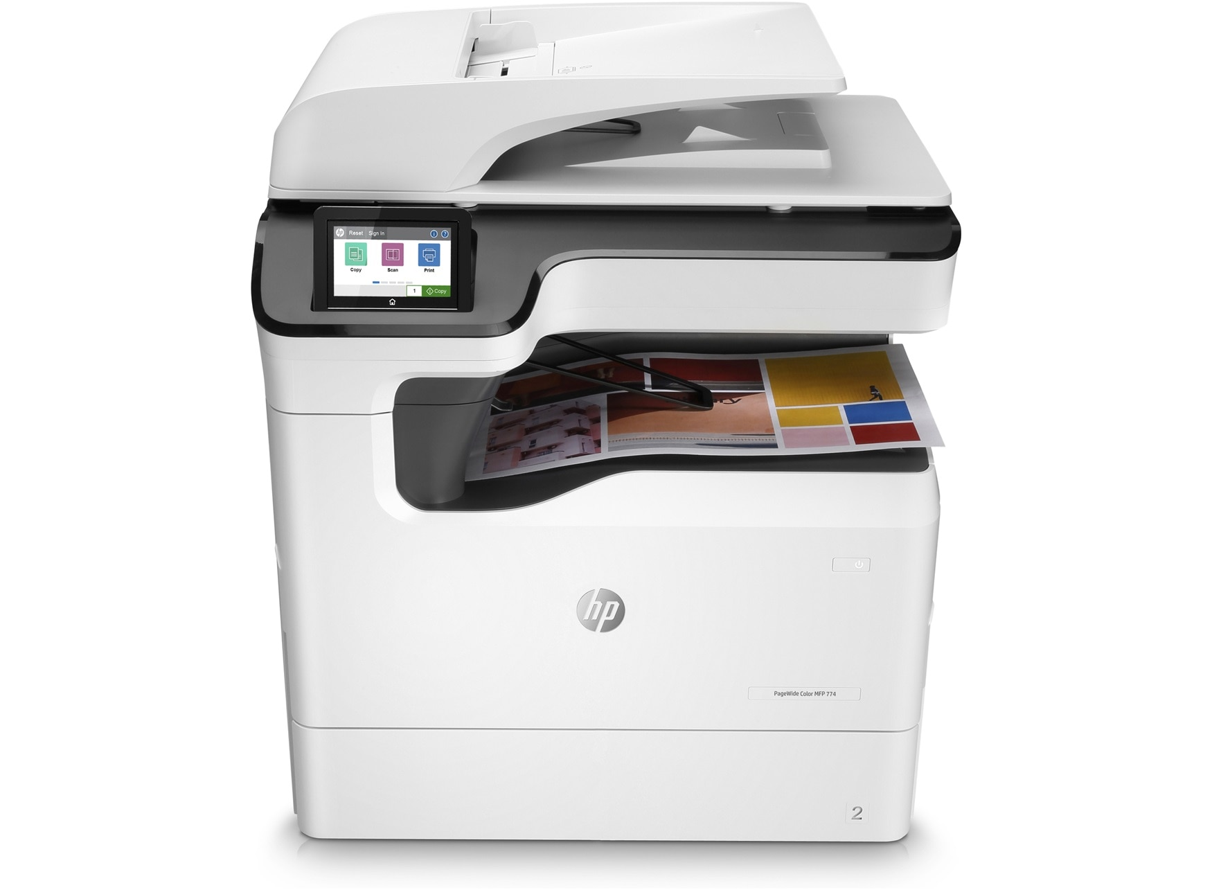 Hp Pagewide Color Mfp 774dn Duplex Network Printer Hp