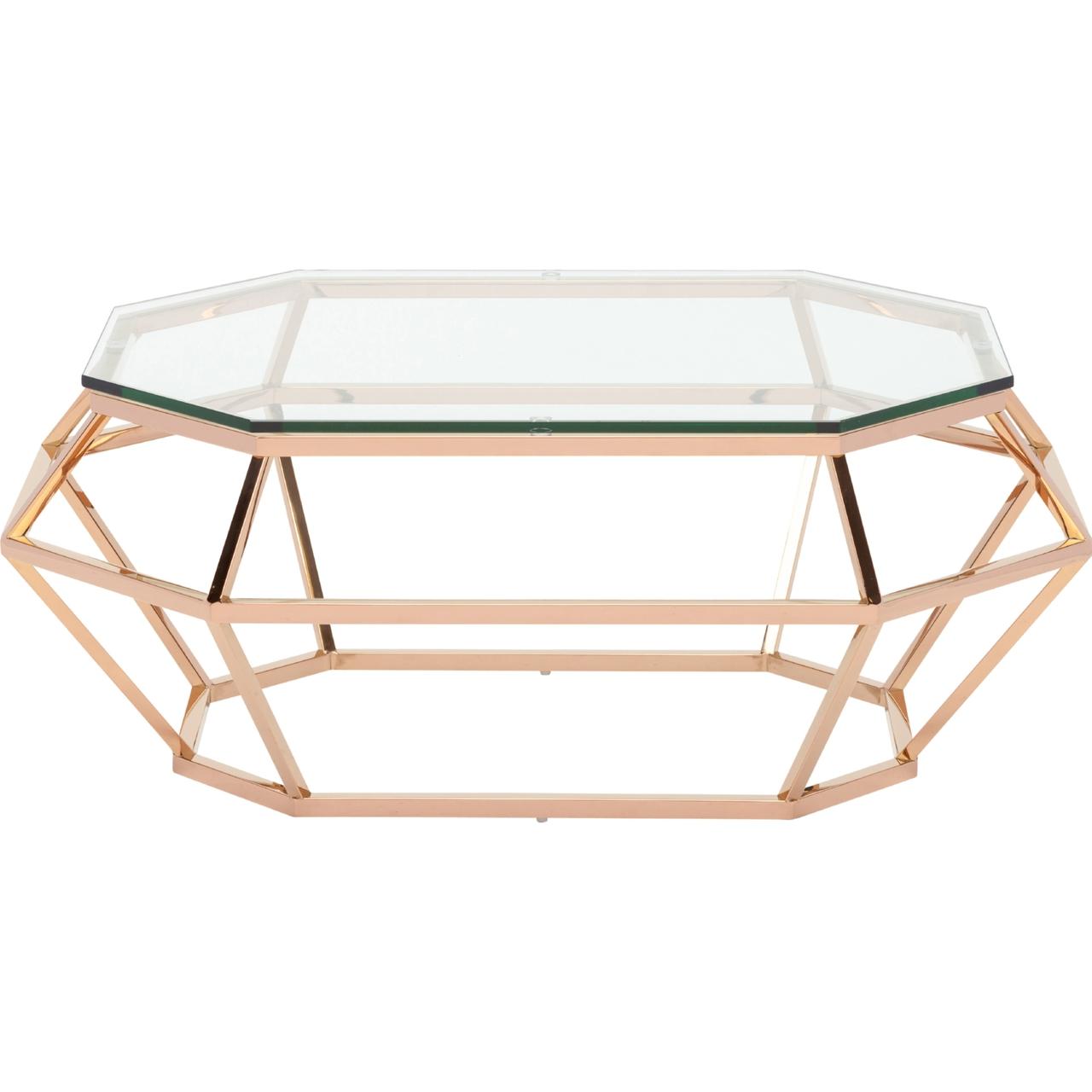 Coffee Table X Shaped Base