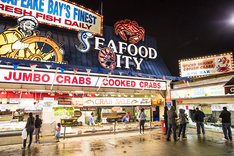 Fishman Wharf Seafood Restaurant Menu