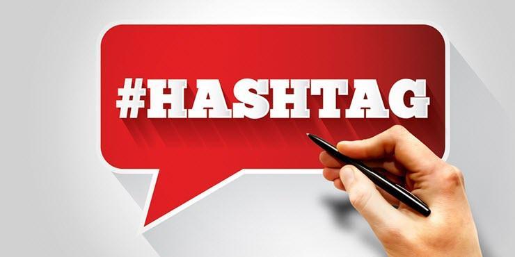 Cum se face un hashtag