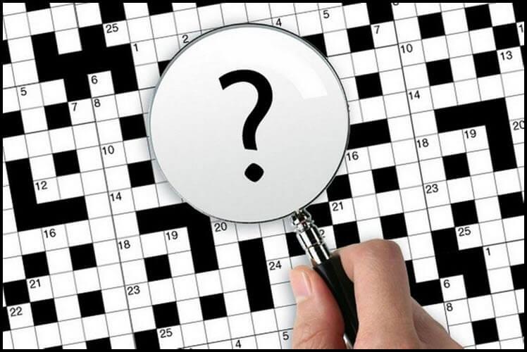 Cara membuat teka-teki silang di editor teks kata