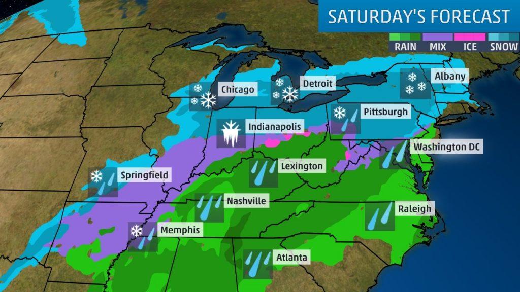 Winter Conditions Blizzard 2019