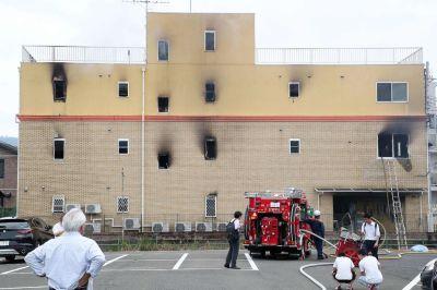 Arson attack devastates Kyoto Animation anime studio ...