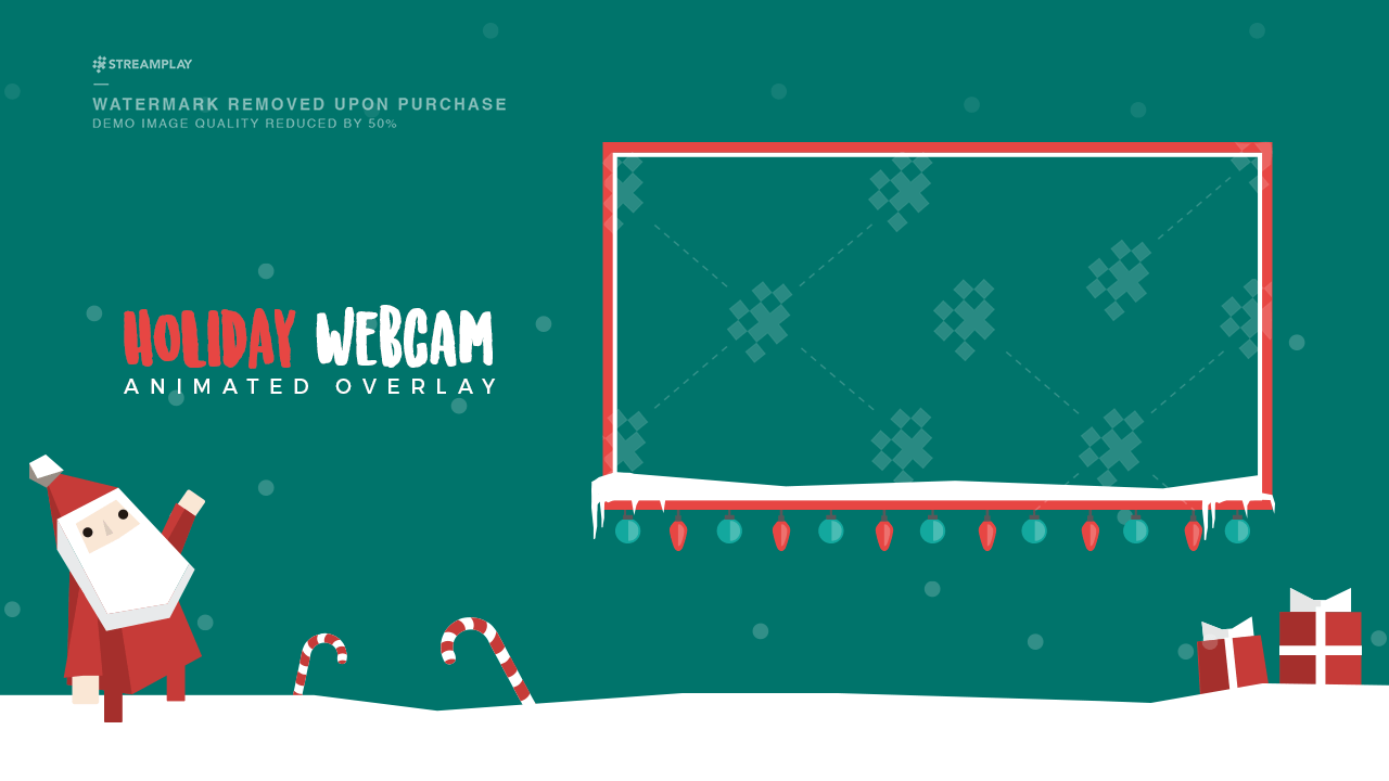 Christmas Webcam Overlay