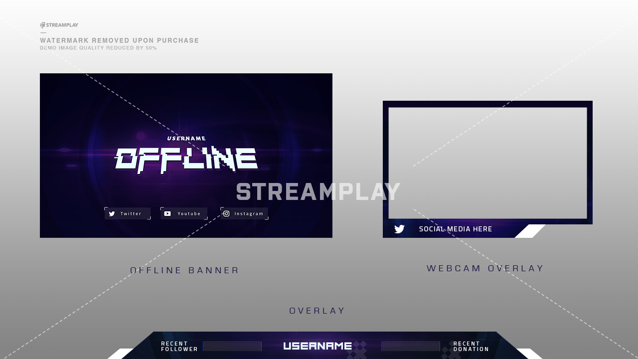 Nebula Stream Package Streamplay Graphics