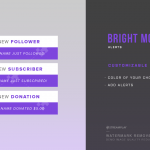 Bright Moments Twitch Alerts