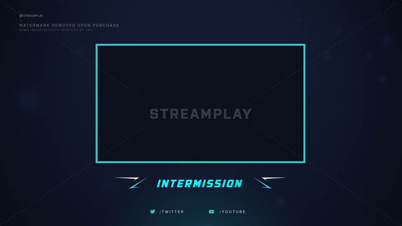 stream intermission screen