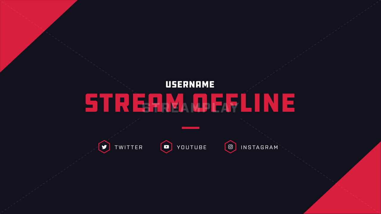 preview of the deadlock twitch offline banner