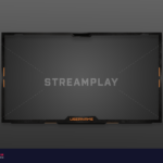 military themed webcam overlay