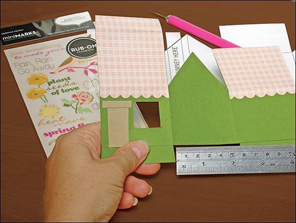 خانه کاغذی چگونه جمع آوری شود