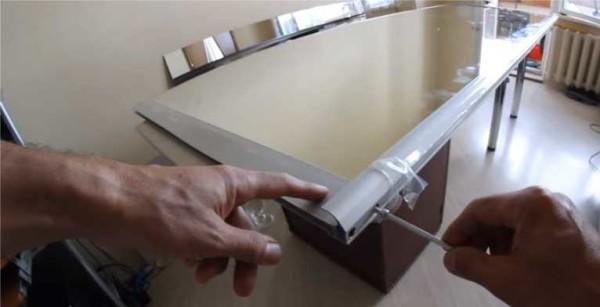 نصب اتصال دهنده ها از زیر