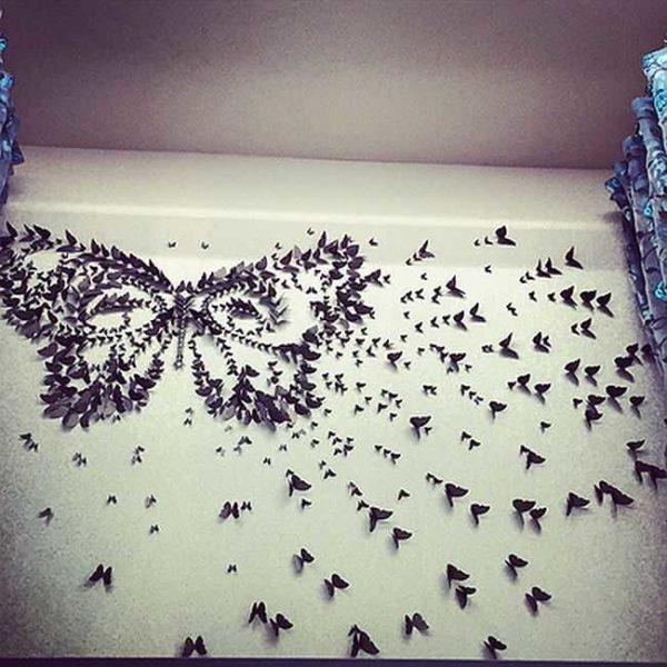 Toinen vaihtoehto, jossa on iso perhonen ...