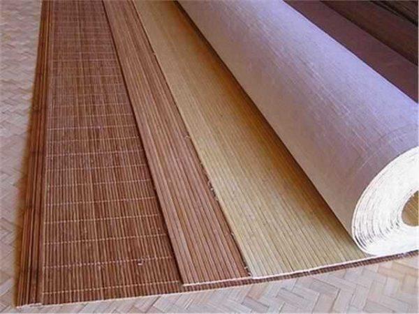 Бамбук тұсқағазы - ішкі шығыс дәміне берудің тамаша тәсілі