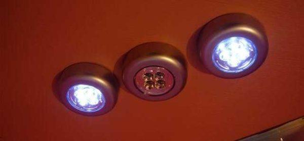 Disse er ikke-flyktige LED-lamper.