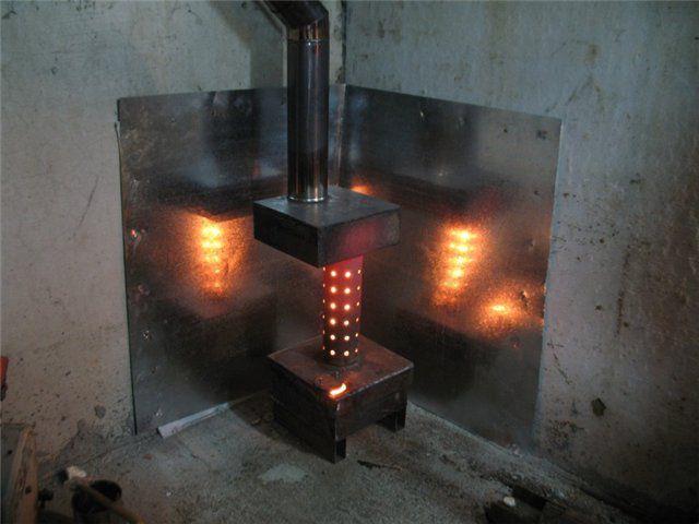 Эксплуатация печек на отработке требует соблюдения особых мер предосторожности