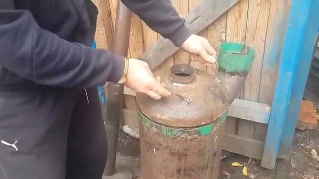 Tutupi boiler.