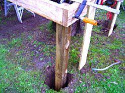 Les racks sont situés dans les fosses