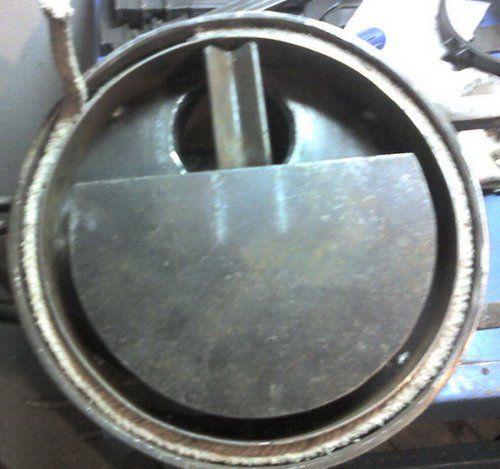 용접 된 반지 및 삽입 석면 코드