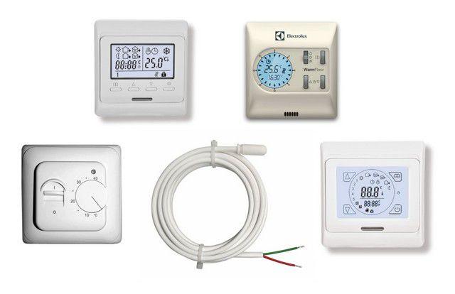Meskipun ada perbedaan dalam kompleksitas perangkatnya, hampir semua blok kontrol termostatik dirancang untuk dipasang di soket soket standar