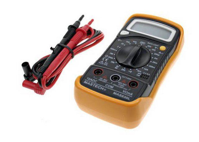 Untuk mengontrol sirkuit listrik beralih, Anda akan memerlukan multimeter
