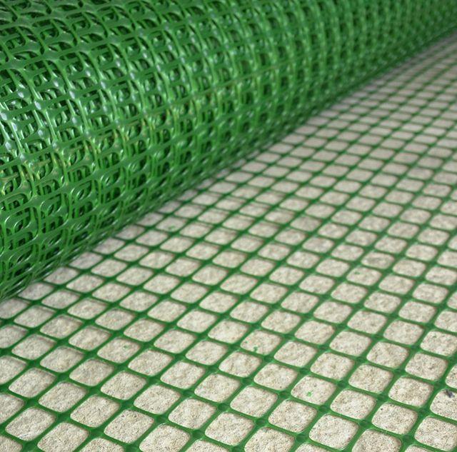 Plastförstärkande nät är ett utmärkt alternativ till metallisk