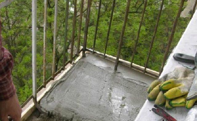 Балконға скринді туралау