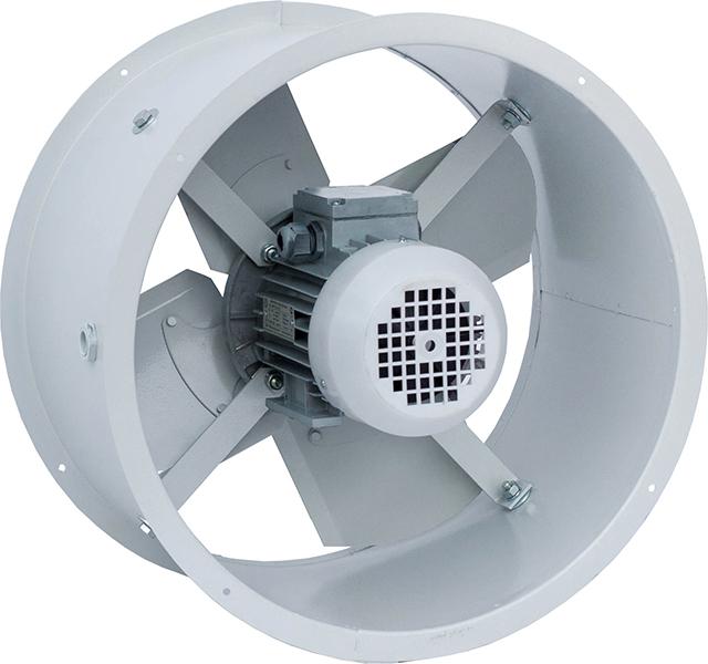 Ventilador axial: el diseño más común en el sistema de ventilación.