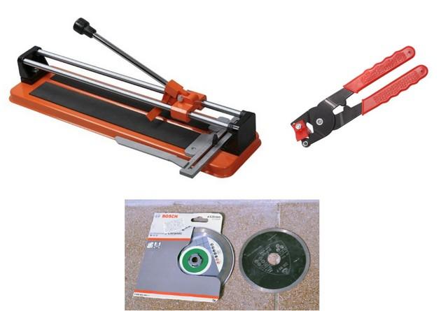 Keraamiset laattojen leikkaustyökalut: ilman tätä, tavalla tai toisella - ei voi tehdä