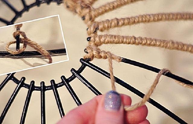 قاب راهنمای جانبی جانبی با طناب.