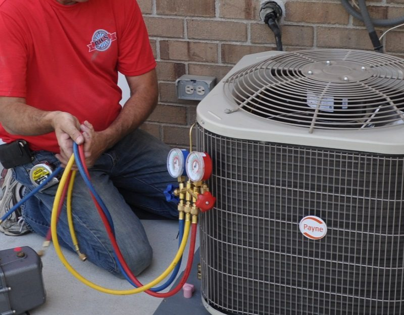 Freon Air Adding Home Conditioner