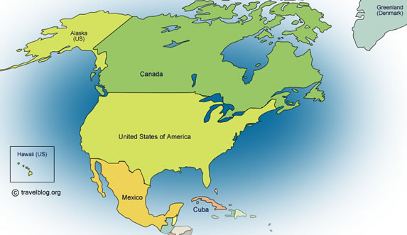 north america webquest