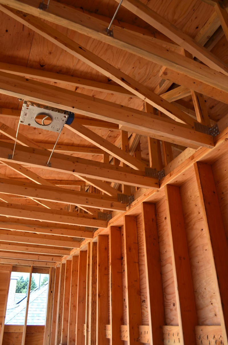 Dunbar House Framing 171 Home Building In Vancouver