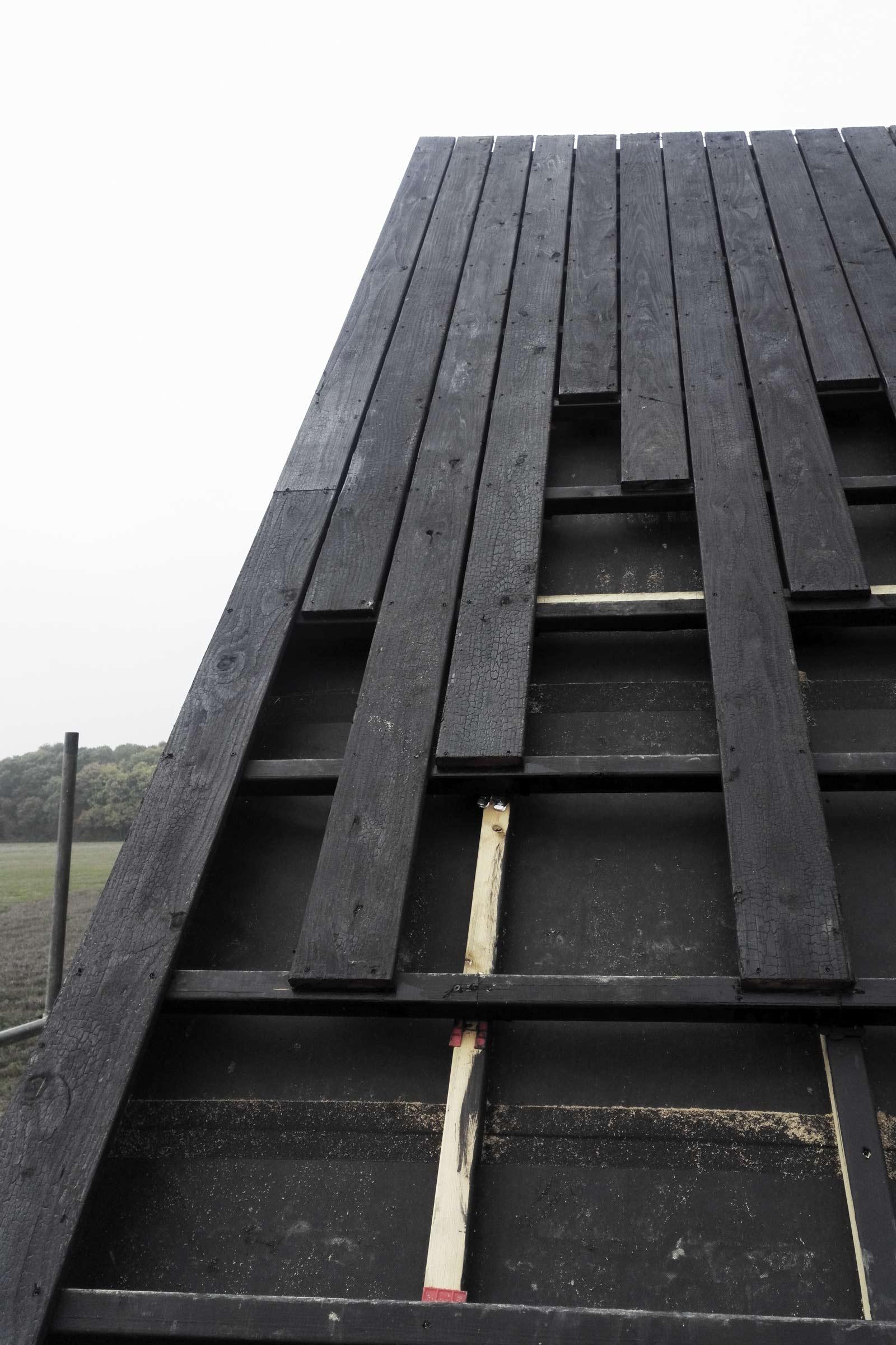 Black Barn Under Construction Studio Bark