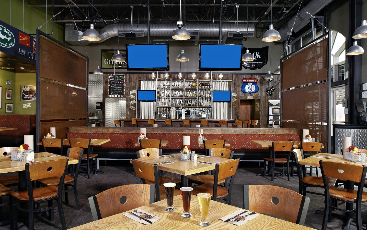 Grill Restaurant Interior Design