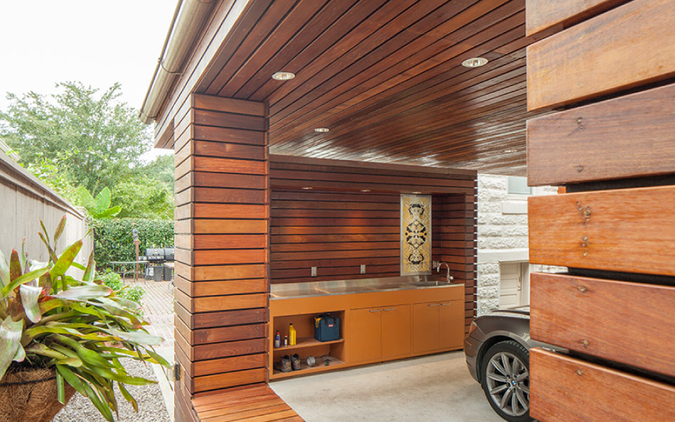 Carport For A Private Residence Studiowta
