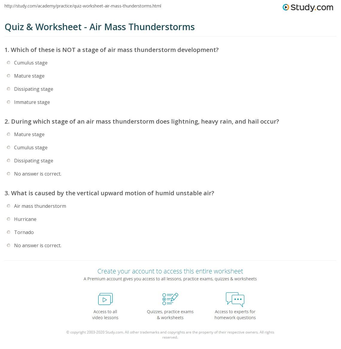 Quiz W Ksheet Ir M Ss Thunderst Ms Study
