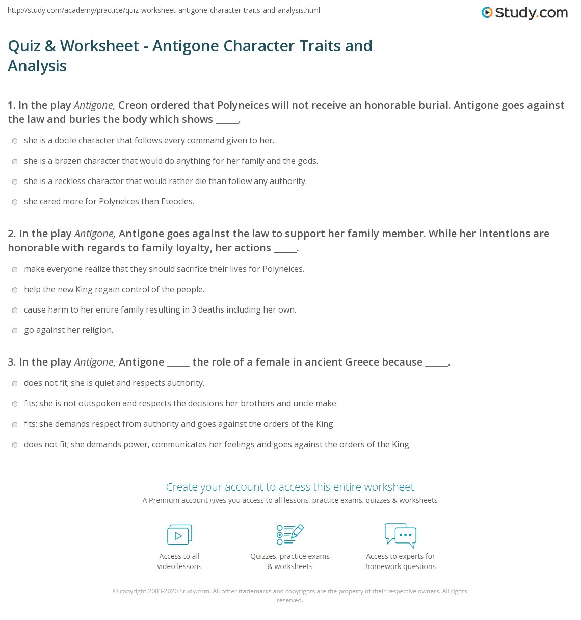 Quiz W Ksheet Ntig E Ch R Cter Tr Its Nd N Lysis Study