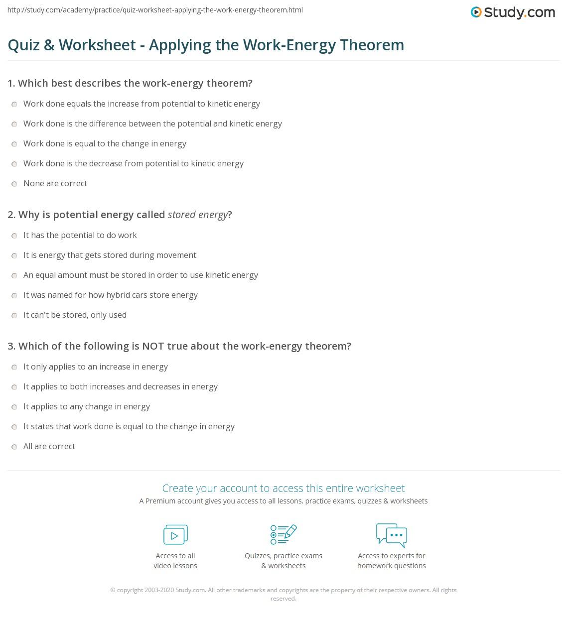 Quiz W Ksheet Pply G W K Energy Em Study
