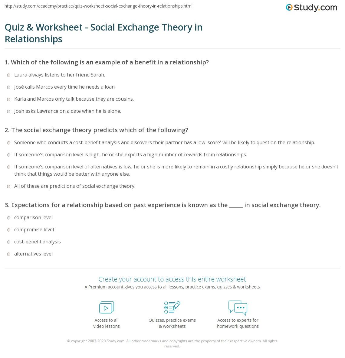 Quiz W Ksheet Ci L Exch Nge Y Rel Ti Ships Study