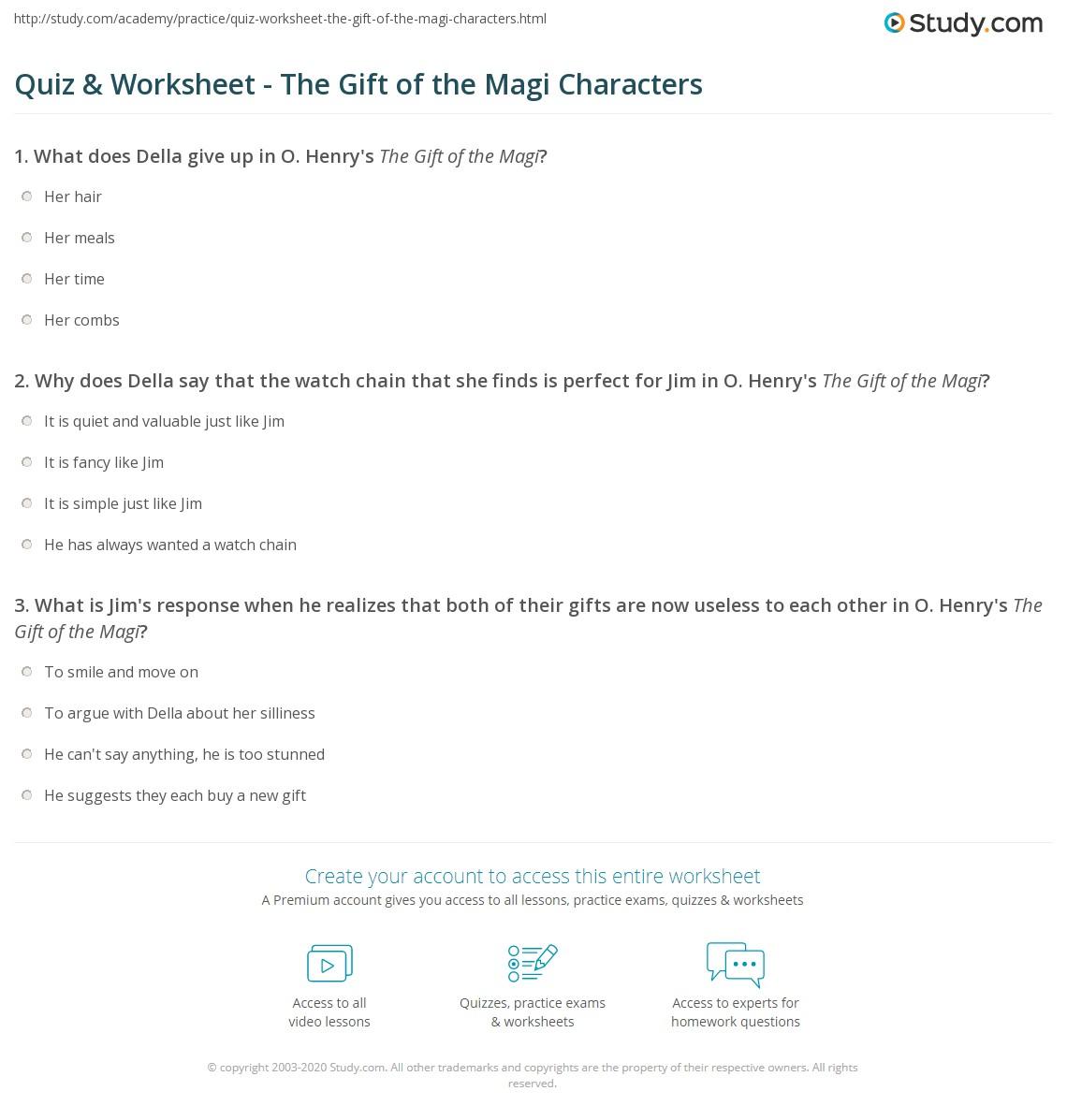 Quiz W Ksheet G T Of M Gi Ch R Cters Study