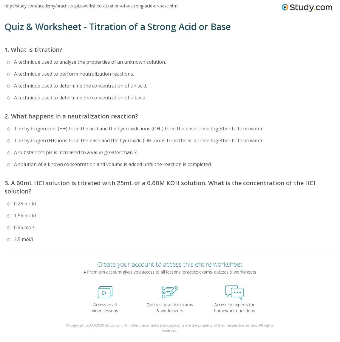 worksheet Solution Concentration Worksheet acid and bases worksheet answer key free worksheets library properties of cids nd b ses w ksheet ksheets libr ry
