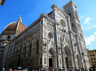 Florence Cathedral Interior   Study com Facade of Florence Cathedral