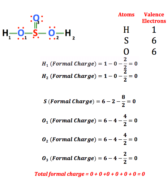 so4 2-lewis structure with formal charges - 543×576