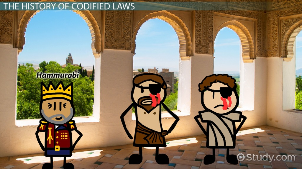 Codified Law: Definition & History - Video & Lesson ...