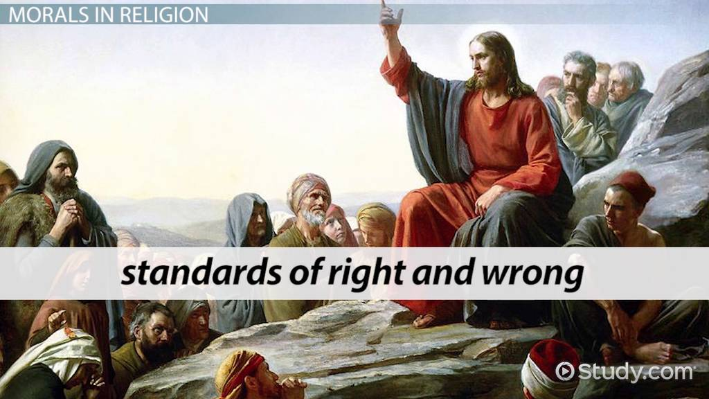 What Is The Christian Moral Code Video Amp Lesson