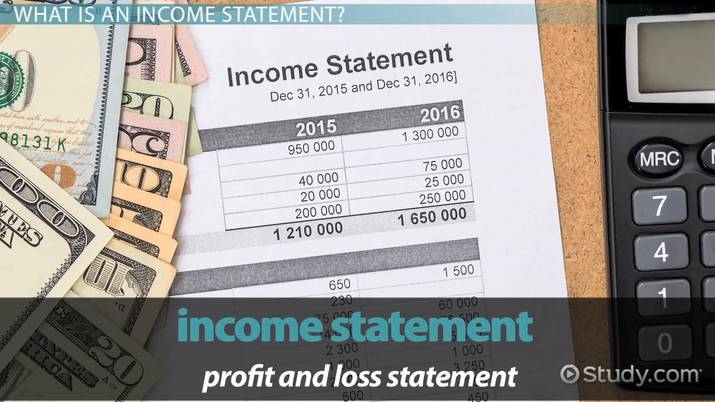 How To Make An Income Statement Example Amp Analysis