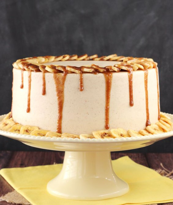 Salted Caramel Cake Recipe Baked