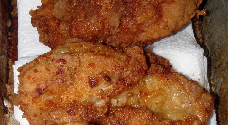 Crispy Oven Fried Chicken Tenders