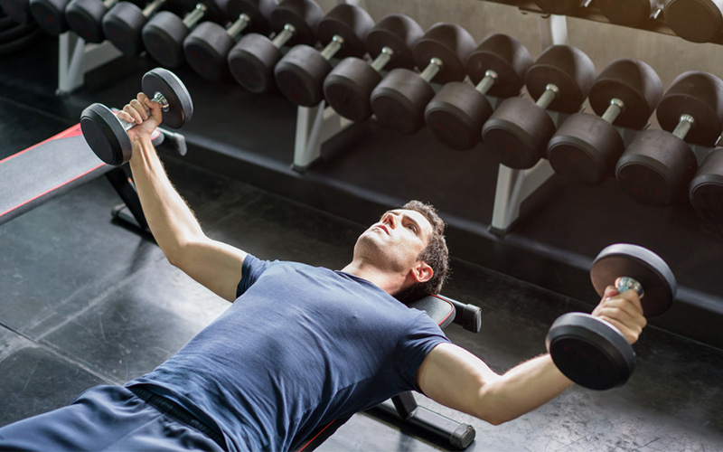 The Proper Dumbbell Bench Press Form Ensure The Optimal